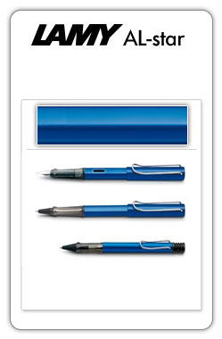 Lamy AL-star Blue