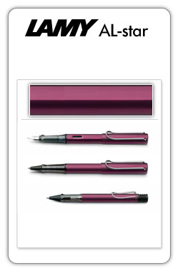 Lamy AL-star Black Purple
