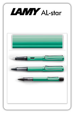 Lamy AL-star  Blue Green