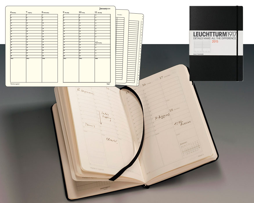 Planificador semanal Leuchtturm 1917
