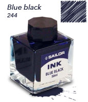 Tinteros Sailor blue black
