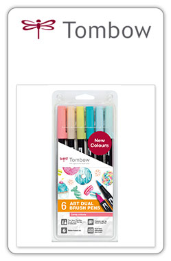 Tombow ABT Pack ABT 6-4 - set de 6 colores Candy
