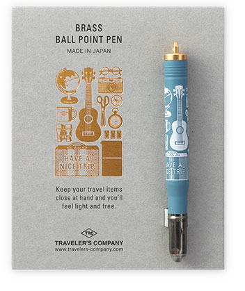 Brass Ballpoint Pen Travel Tools