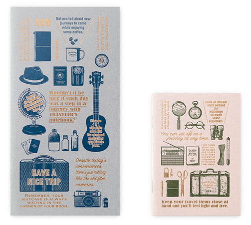 Letterpress Card Travel Tools